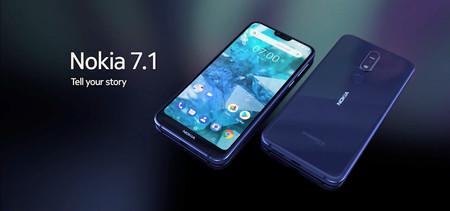 El Nokia 7.1 con 4GB y 64GB está a punto de ponerse a la venta en Europa