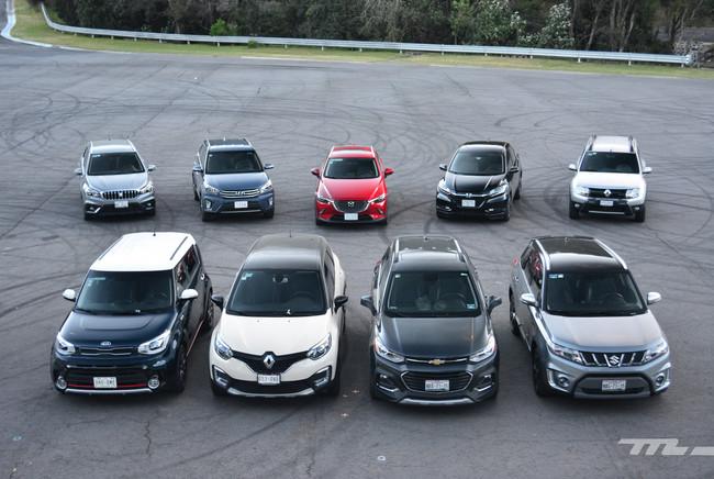 Comparativa: ¡Al ring con 10 de los B-SUV a la venta en México! (I)