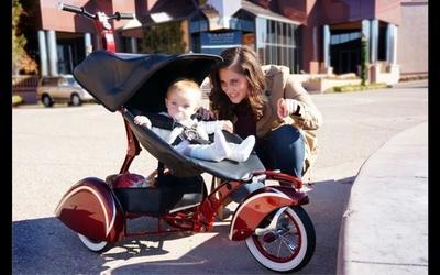 Pasea a tu bebé con estilo: Kid Kustoms The Roddler Mv5