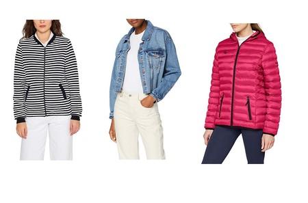 Chollos en tallas sueltas de chaquetas y abrigos para mujer de marcas como Esprit, Columbia o New Look en Amazon