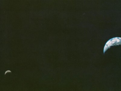 La primera imagen de la Tierra y la Luna desde el espacio cumple 40 años
