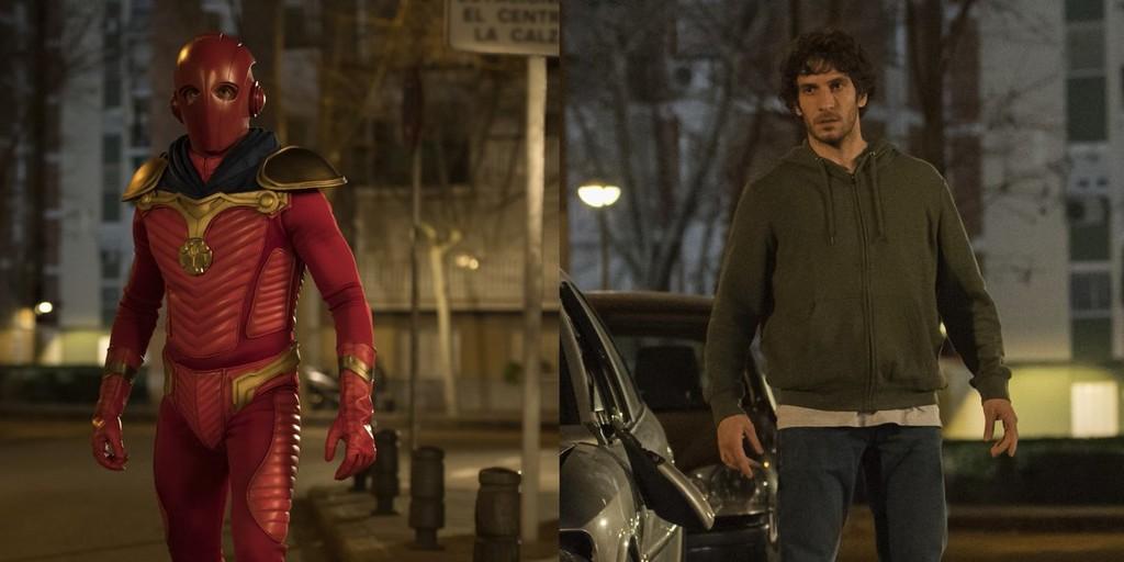 Quim Gutiérrez es Titán en la primera imagen de 'El Vecino', la serie de Netflix creada por Nacho Vigalondo