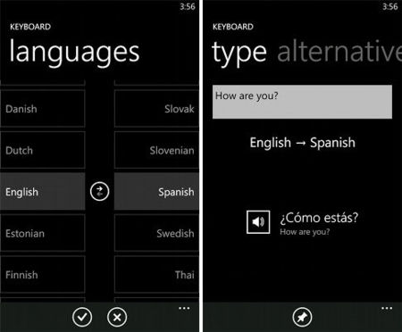Actualización interesante de Bing Translator para Windows Phone