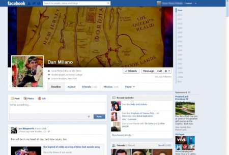 Facebook prueba otra versión distinta de su biografía, ¿se ha equivocado al lanzar su timeline?