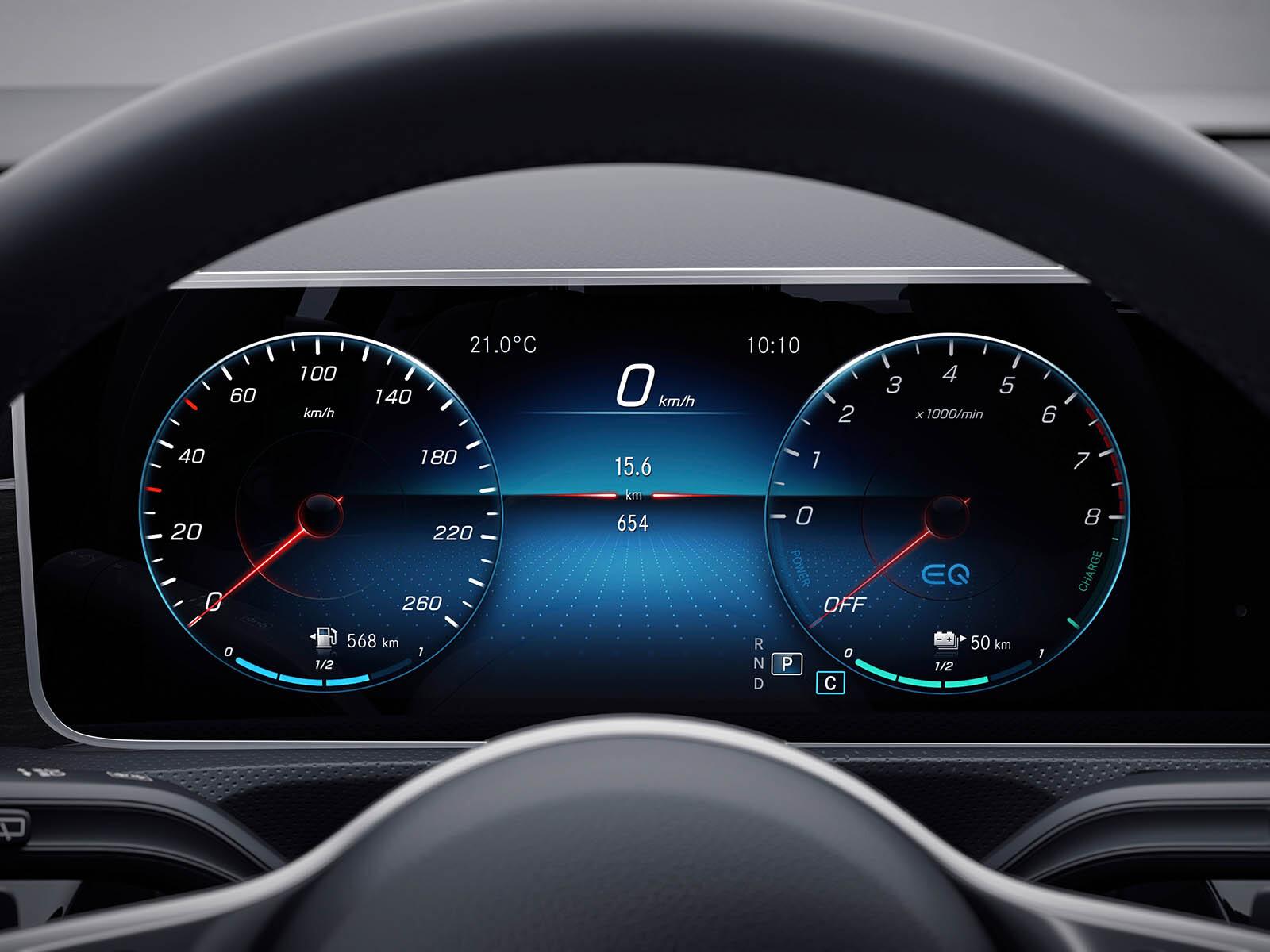 Mercedes-Benz A 250e prueba