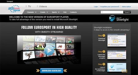 Para ver Superbikes, el Player de Eurosport