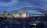 El A380 de Qantas llega a Sídney