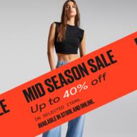 Últimos días de la promoción de Bershka con hasta un 40% de descuento en las mejores prendas: camisetas, faldas y más