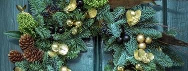 26 (inspiradoras) ideas para preparar coronas de Navidad DIY ¿Con cuál te quedas?