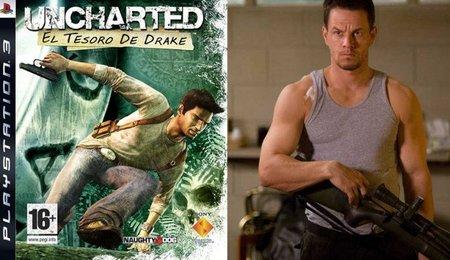 Mark Wahlberg en la adaptación al cine del videojuego 'Uncharted: El tesoro de Drake'