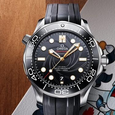 OMEGA presentó en Nueva York el Seamaster Diver 300M, el nuevo reloj del agente James Bond