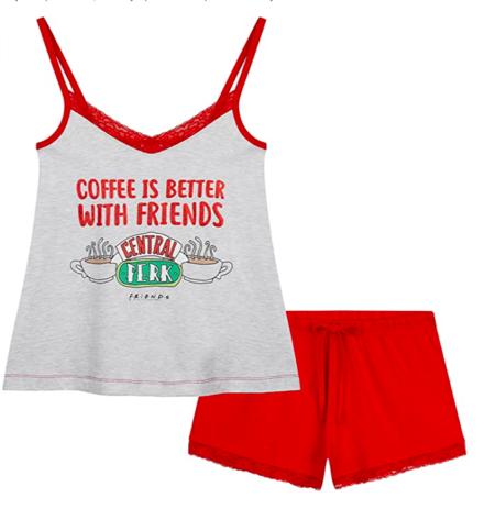 Pijama Corto De Friends Amazon