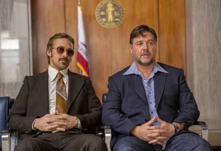 Ryan Gosling Russell Crowe Dos Buenos Tipos