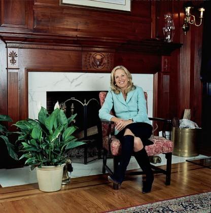El salón de Joe Biden
