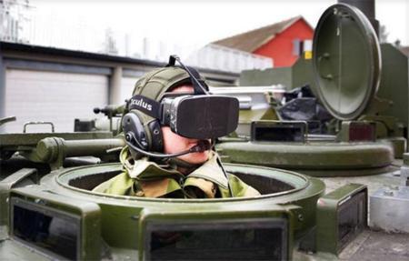 Oculus más allá del videojuego: de tanques al control de robots en Marte