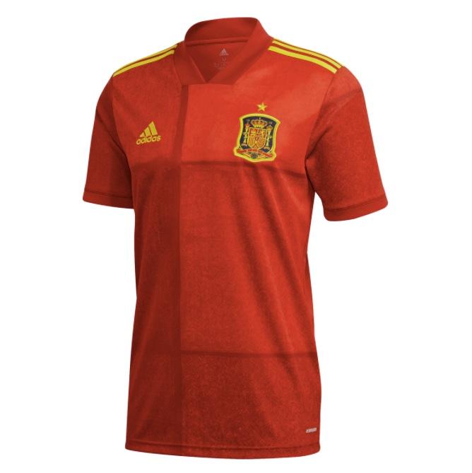 Camiseta de hombre 1ª equipación FEF Selección Española de Fútbol 2020 Adidas