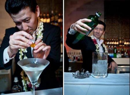 Manabu Ohtake, Mejor Bartender del Mundo según la Word Class Competition 2011. Alberto Pizarro, el campeón barcelonés