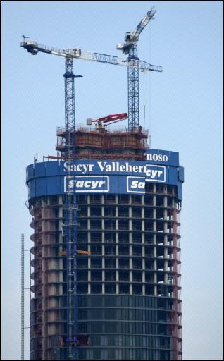 Sacyr Vallehermoso se situó bien para el freno inmobiliario