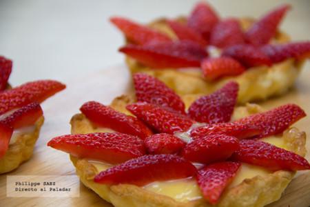 Tartaletas individuales de fresas