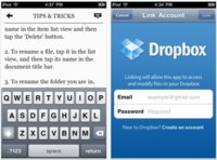 PlainText, edita y comparte documentos con Dropbox desde tu dispositivos iOS
