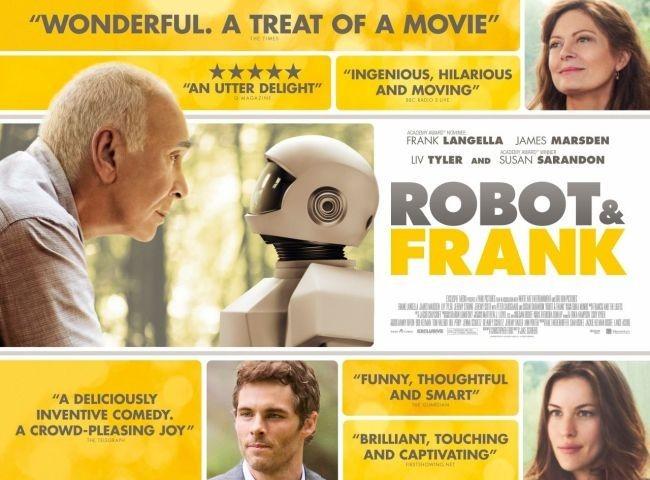 Cartel de Un amigo para Frank (Robot & Frank)