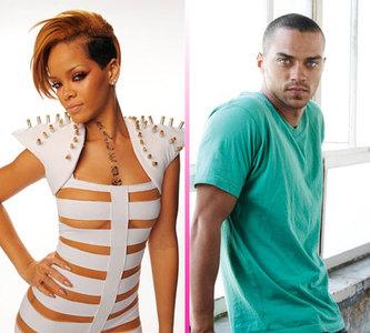 Rihanna lo admite, está loquita por Jesse Williams