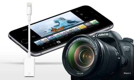 8629166e116 iOS 9.2 permite importar fotografías al iPhone directamente desde cámaras  externas