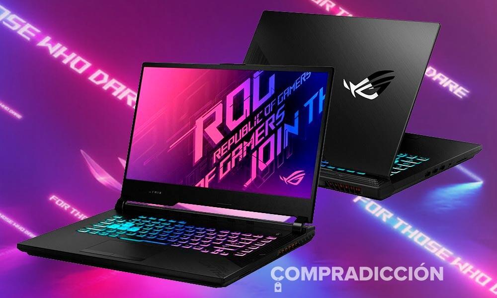 En las ofertas Límite 48 Horas de El Corte Inglés el portátil gaming ASUS ROG Strix G513IH-HN008T está rebajado a 1.099 euros
