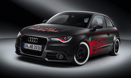 Audi A1 Hot Rod en el Wörthersee Tour 2010