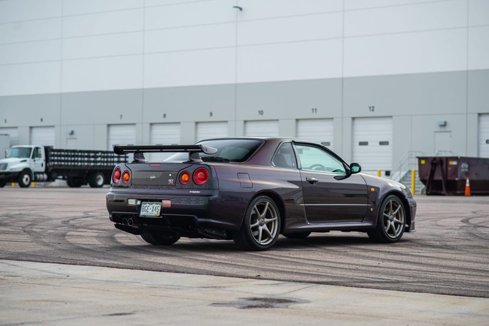 Foto de Nissan Skyline GT-R V-Spec 1999 subasta (2/19)