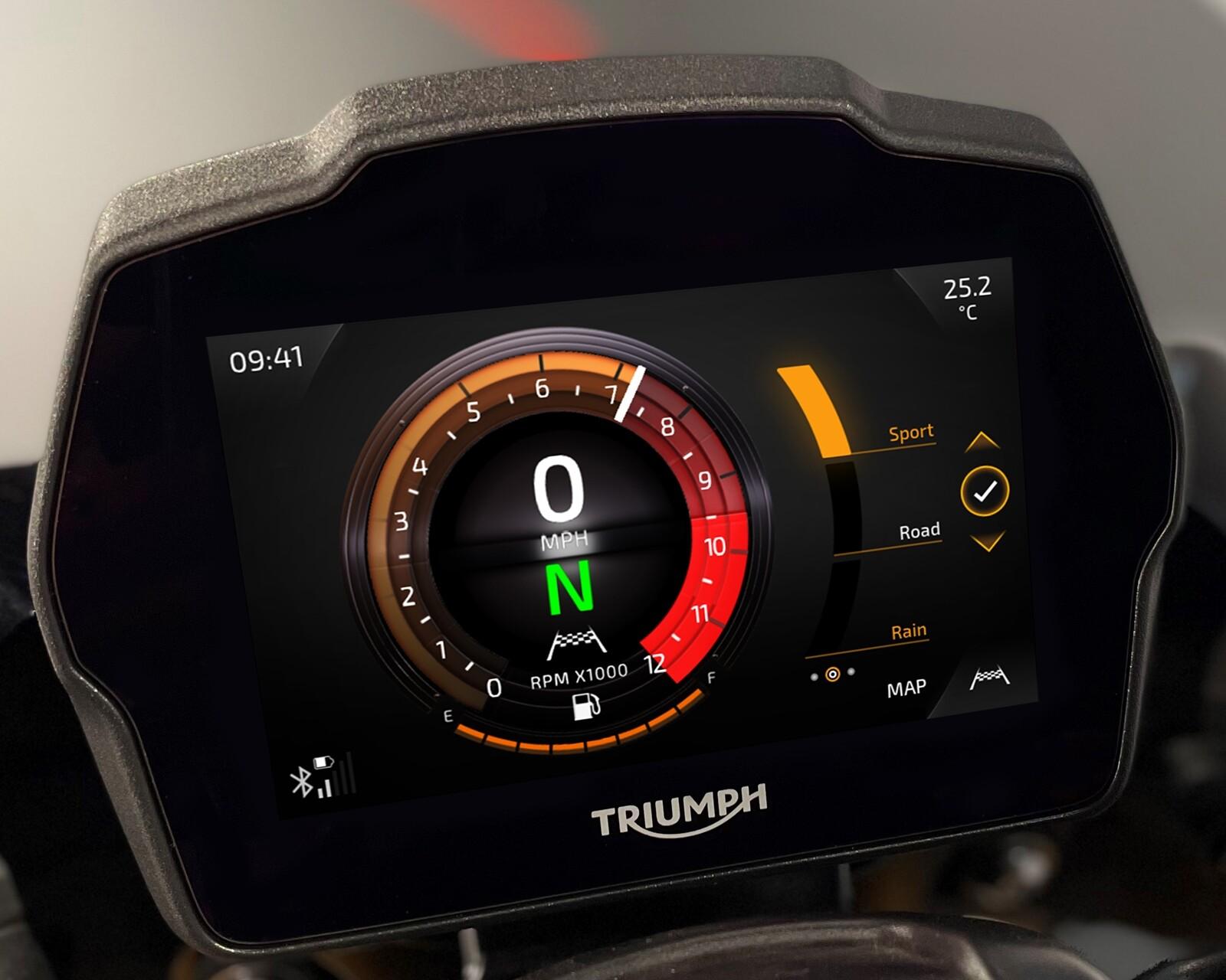 Foto de Triumph Speed Triple 1200 RS 2021 (6/71)