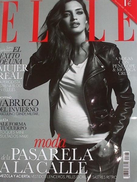 Sara Carbonero presume de embarazo en la nueva portada de Elle y ¡estrena blog de moda!