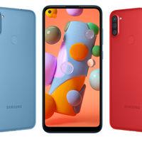 Samsung Galaxy A11: el más básico es menos básico e incluye cámara triple y perforación en la pantalla
