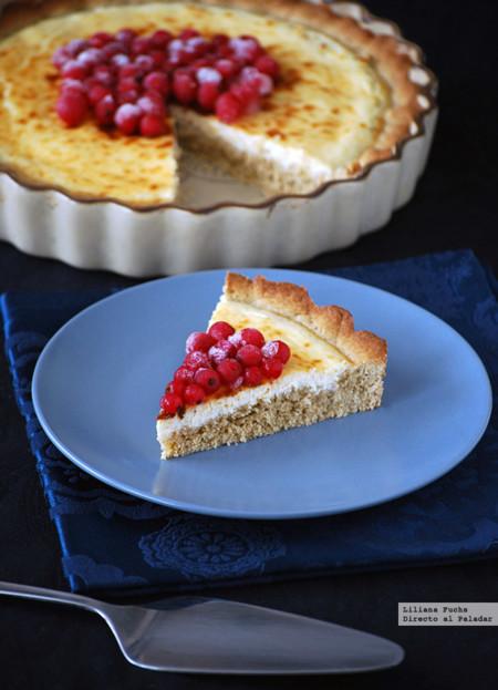 Recetas para toda la familia: tarta rústica de queso y grosellas con centeno, medallones de polenta y más recetas otoñales