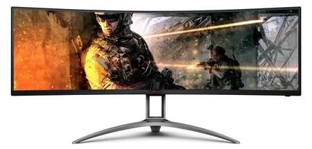 AOC presenta el Agon AG493UCX2, un monitor ultrapanorámico y curvo, de 49 pulgadas con 165 Hz y USB Tipo C