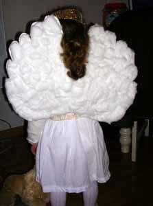 Mi disfraz de angelito casero