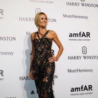 El vestido de tiras cortadas de Heidi Klum
