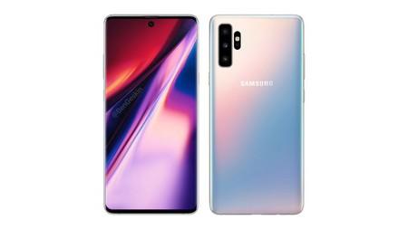 Galaxy Note 10, así sería el próximo insignia de Samsung: con cuatro cámaras, agujero en pantalla y sin jack de audio