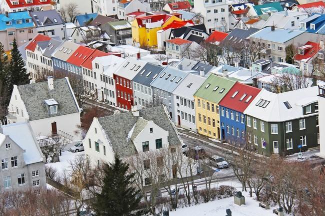 Reykjavik Nieve