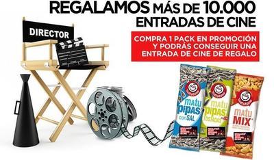 También hay entradas de cine gratis con Matupipas