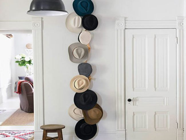 Decorar con sombreros - Perchero para sombreros ...