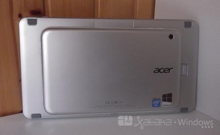 Acer Iconia W3 enganchado al teclado
