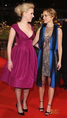 Scarlett Johansson y Natalie Portman en la Berlinale