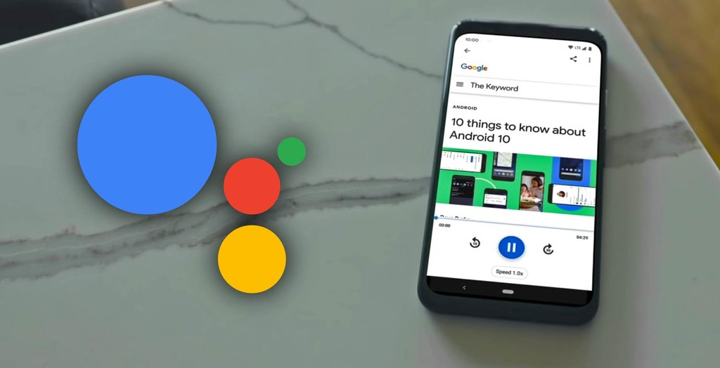 Der assistent von Google kann webseiten lesen, für dich und auch übersetzen