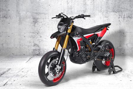 So delicious! Yamaha WR450F Splice: una Supermotard atiborrada de fibra de carbono por más de 30.000 euros
