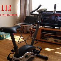 """Cycflix: una bicicleta estática conectada a Netflix para hacer un entrenamiento """"de series"""""""