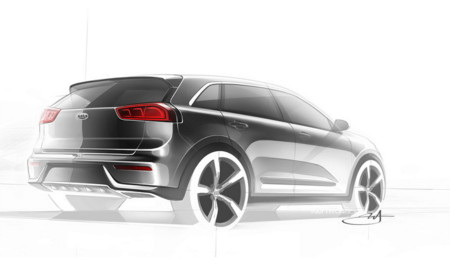 Kia Niro Hybrid Concept 2