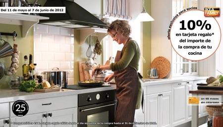 Cocinas con un 10% de descuento en Ikea