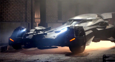 El nuevo Batimóvil detallado en video