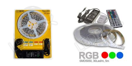 Lampara LED - kit de tiras LED